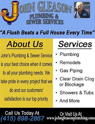 John Gleason Plumbing & Sewer Services.j
