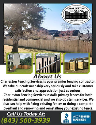 Charleston Fencing Services 1 correction