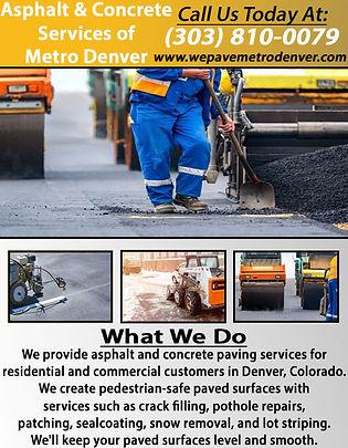 Asphalt & Concrete Services of Metro Den