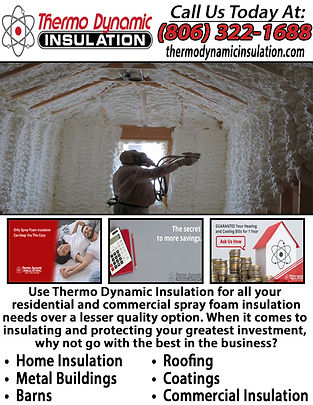 Thermo Dynamic Insulation of Amarillo.jp