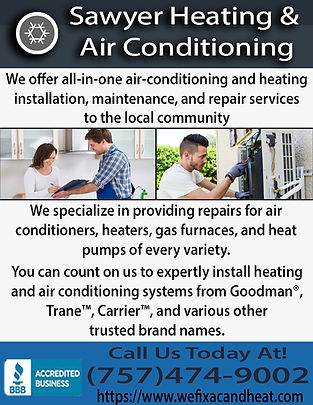 Sawyer Heating & Air Conditioning 2017.j
