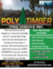 Poly Timber Tree Service Inc Corrections