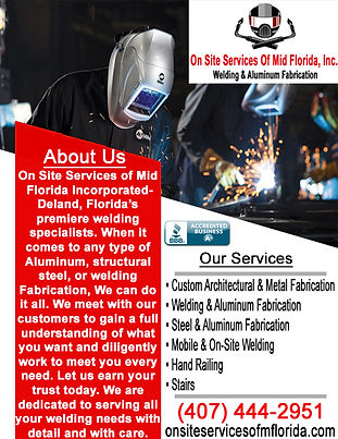 On Site Services of Mid Florida inc. 2.j
