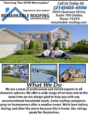 Remarkable Roofing & Construction correc