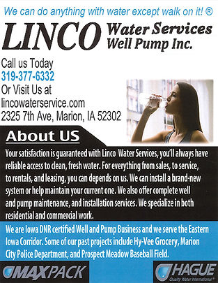 Linco Water Services Well Pump Inc. Corr