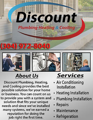 Discount Plumbing, Heating, & Cooling Co