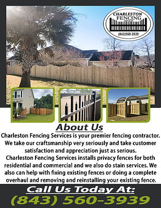 Charleston Fencing Services 1 correction