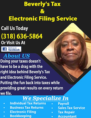 Beverly's Tax & Electronic Filing Servic