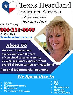 Texas Heartland Insurance Service Correc