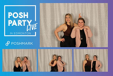 Posh Party LIVE Print Layout