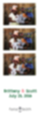 Photo booth film strip