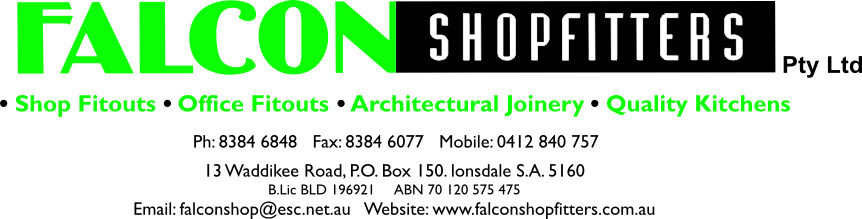 Falcon Shopfitters