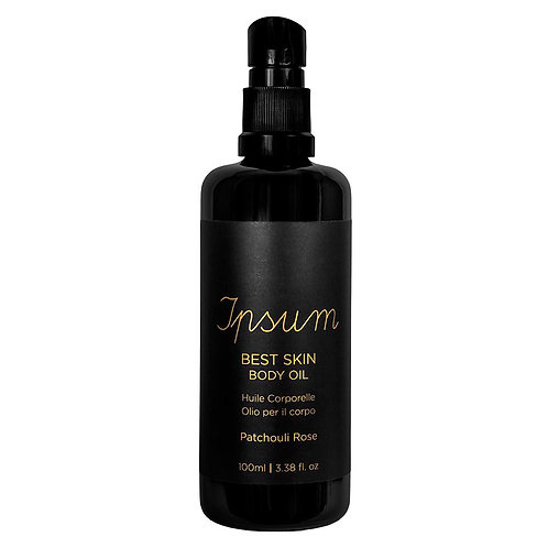 Ipsum Best Skin Body Oil Patchouli Rose