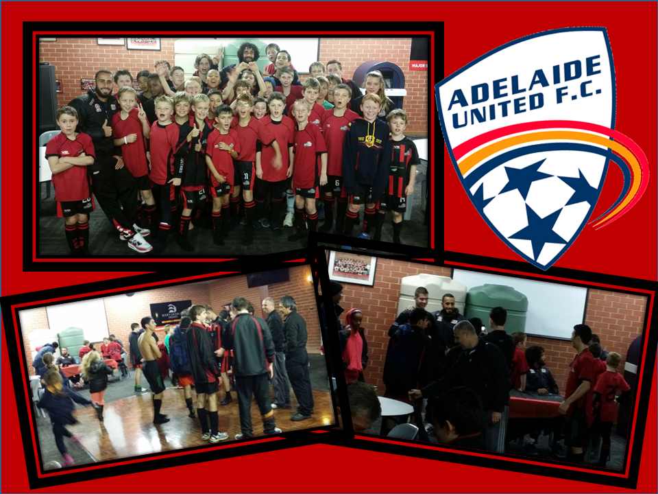 Adelaide United Visit