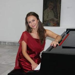 MUSIC ‣ Musician of the Month, July-August, Jasmina Trajcheska, Pianist