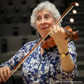 MUSIC ‣ Musician of the Month, August-September, Sandra Goldberg, Violinist and Composer