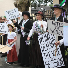 Suffragettes and Fallen Heroes