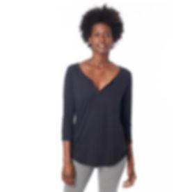 breastfeeding shirt black