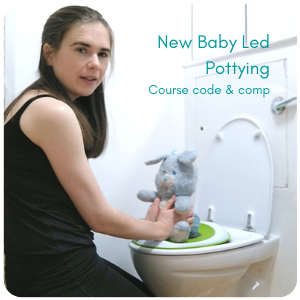Baby led pottying course code & comp