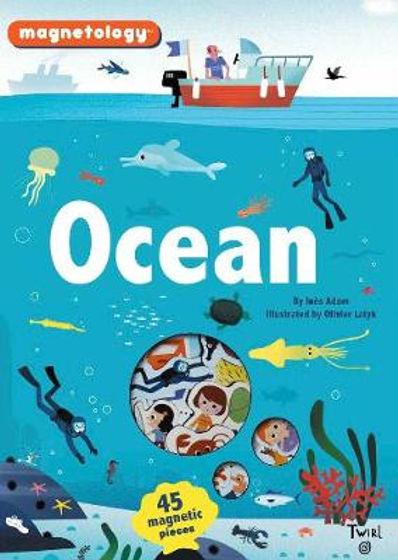 Ocean magnetic fish/ saline book, Magnetology, Olivier Laytk