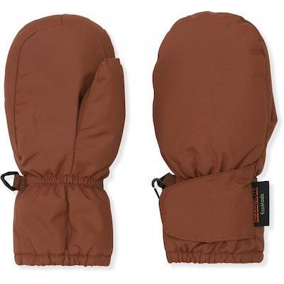 Recycled vegan kids mittens, 3 m to 8 y