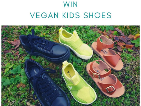 Vegan Kids Shoes: Prize draws and reviews closes 26th Feb