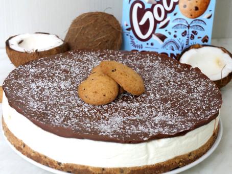 Cheescake Nutella e Gocciole al cocco