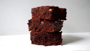 Brownies ripieni di Caramello