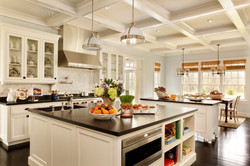 two-traditional-kitchen-islands-provide-