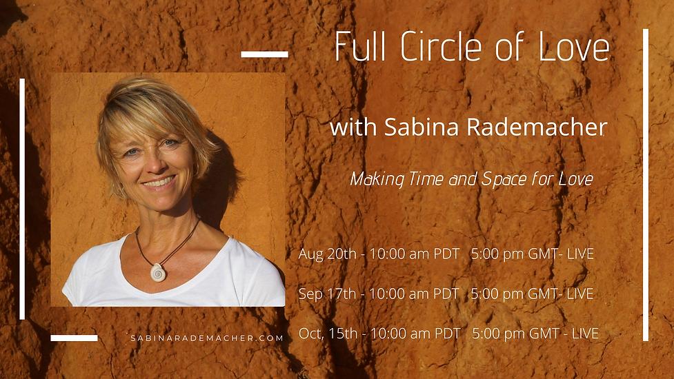 Full Circle of Love_banner sabina's webs