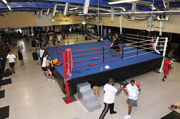 Deluxe Competition Boxing Ring