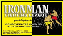 ironman fight league