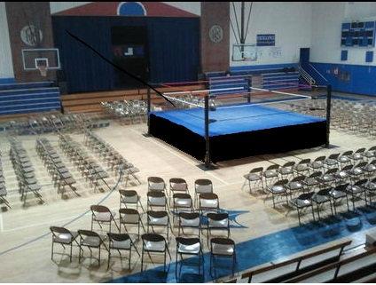 Height Adjustable Wrestling Ring