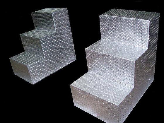 Diamond Steel Steps