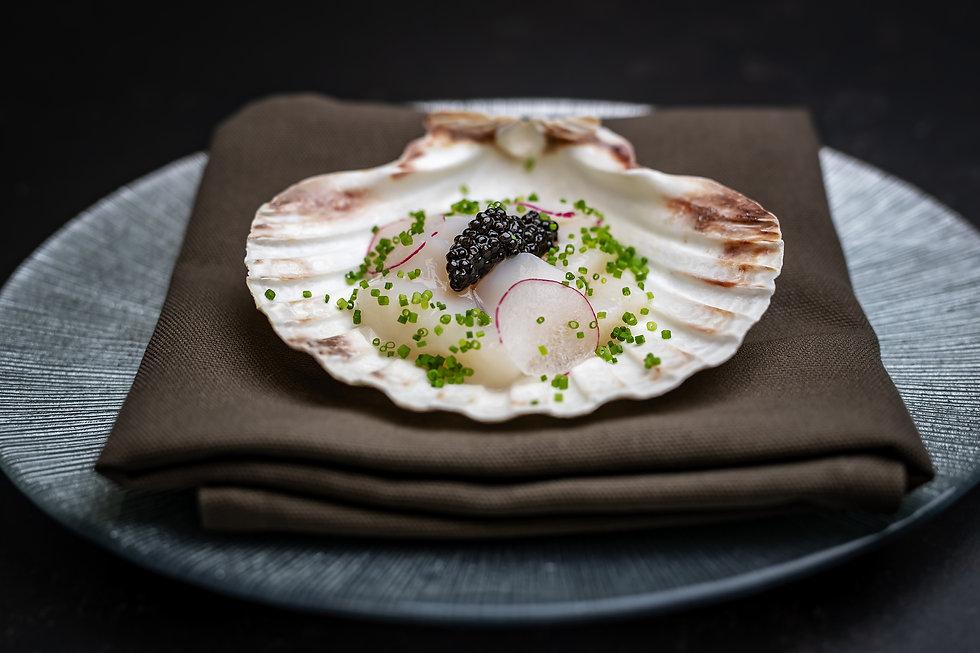 Caviar och pilgrimsmusslor