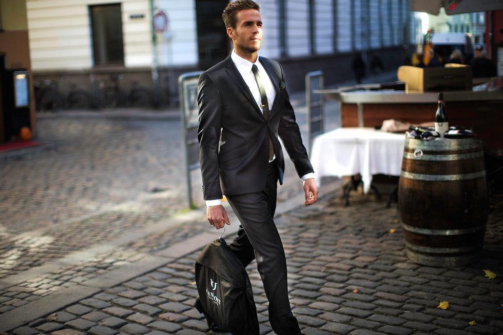 J Anthony Jakkeset Kostym Köpenhamn Modell Daniel