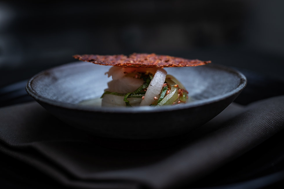 Matbild från restaurang Carbon