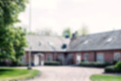 Den välkomnande entren till MiLgården Villan i Klippan