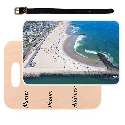 Avon By The Sea Luggage Tag