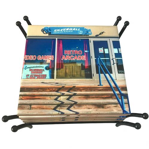 Silverball Museum Retro Arcade coaster
