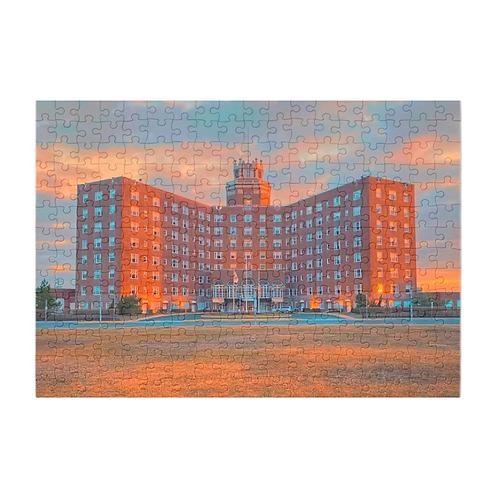 Puzzle & A Print:Berkeley Hotel