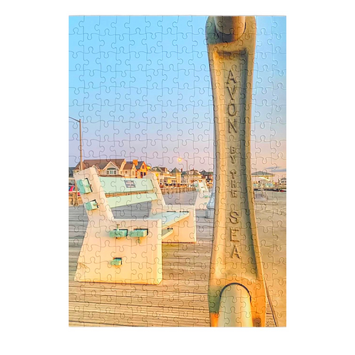 Puzzle & A Print: Avon By The Sea