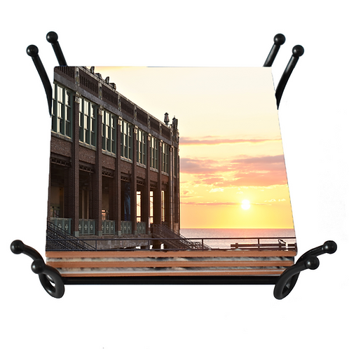 Convention Hall Sunrise Coaster