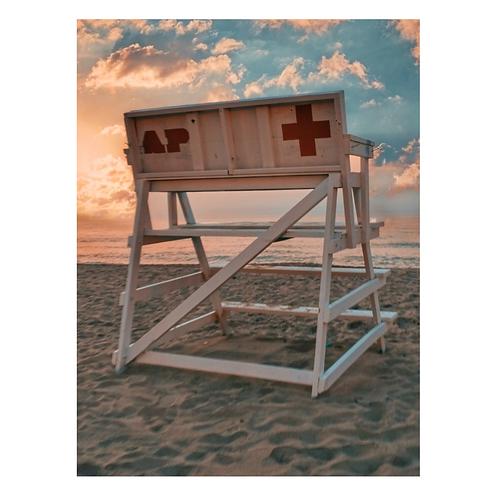 Cutting Board -Asbury Park Lifeguard