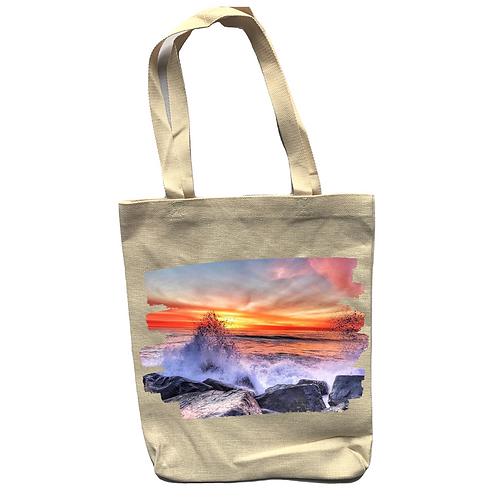 Splash! Linen Tote Bag - Double Sided