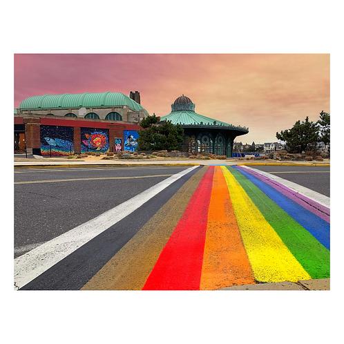 Cutting Board - Rainbow Walkway