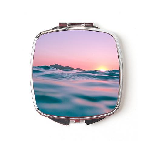 Summer Sunrise Compact Mirror