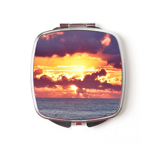 Crack Of Dawn Compact Mirror