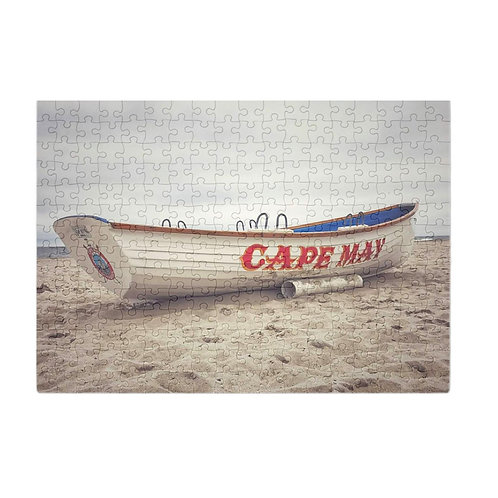 Puzzle & A Print: Cape May