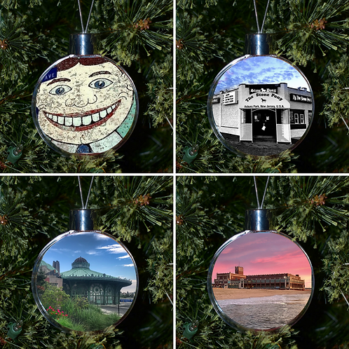 Ball Ornament - Asbury Set of 4